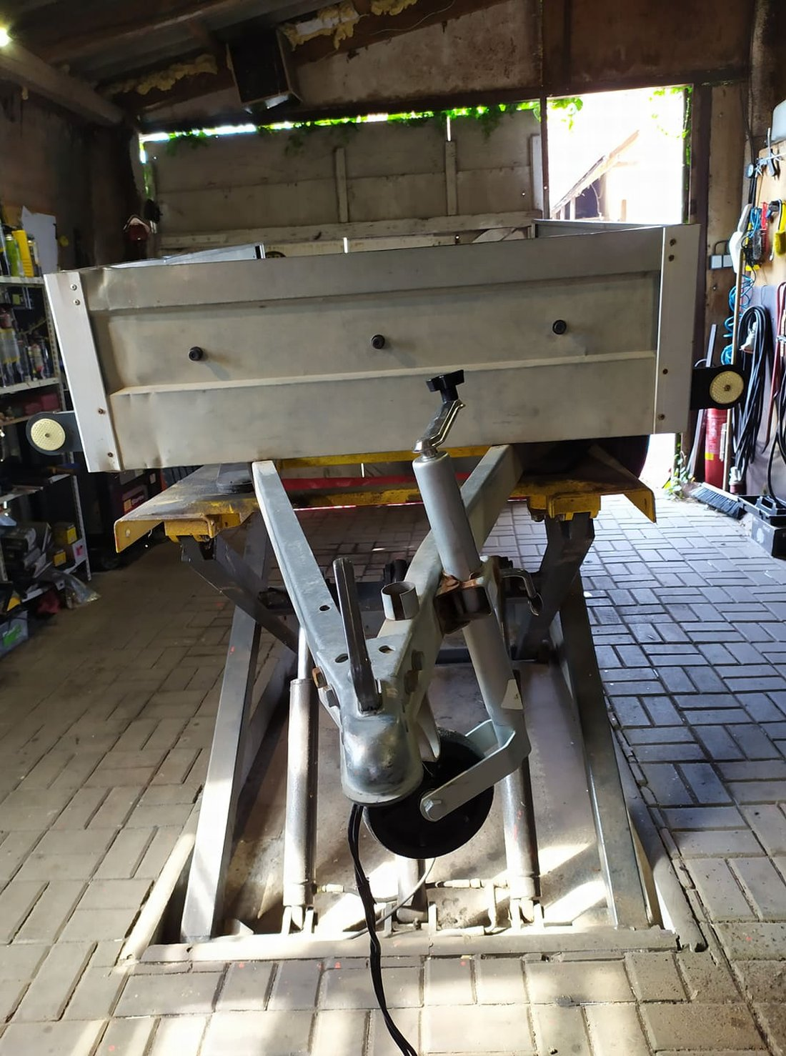 Opravy přívěsných vozíků po nehodách